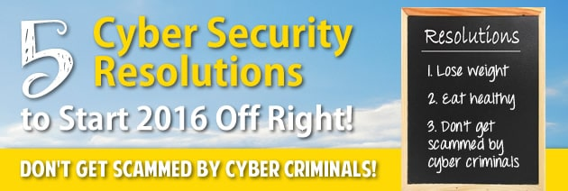 cyber resolutions