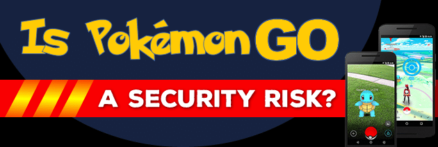 pokemon go security risk