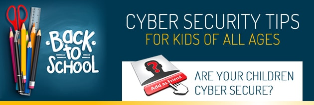 Back to school cyber security