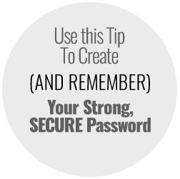 password security tip