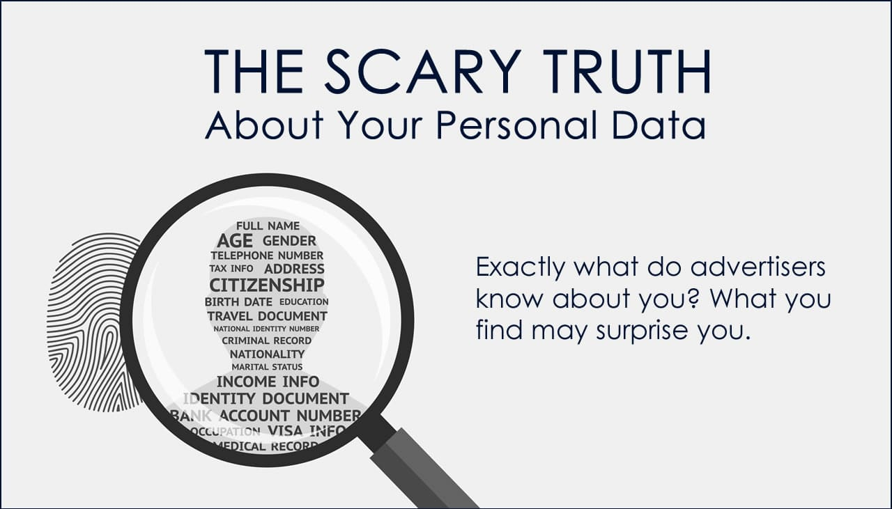The scary truth about personal data