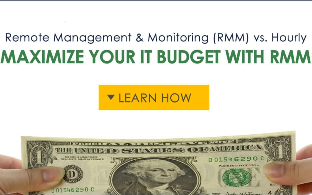 Remote Management and Monitoring (RMM) vs. Hourly