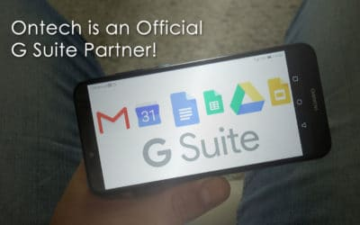 Ontech is an Official G Suite Partner!