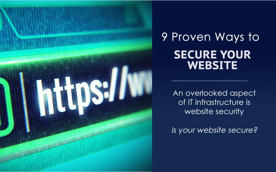 9 Proven Ways to Secure Your Website