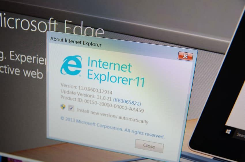internet explorer end of life